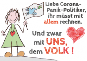 Liebe Corona-Panik-Politiker,