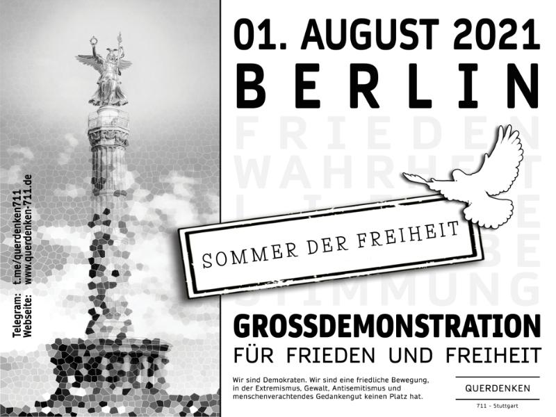 Berlin: 1. August - Sommer der Freiheit